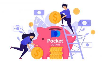 Pocket Option'de Nasıl Para Çekilir ve Para Yatırılır